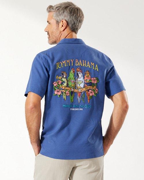 Hangin' With The Guys Camp Shirt