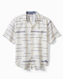 Calm Seas Stripe Camp Shirt