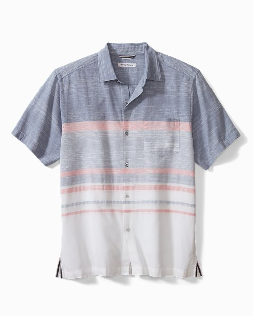 Oceana Stripe Camp Shirt