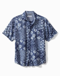 Luna Indigo Camp Shirt