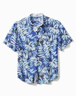 Coconut Point Frond Impressions IslandZone® Camp Shirt