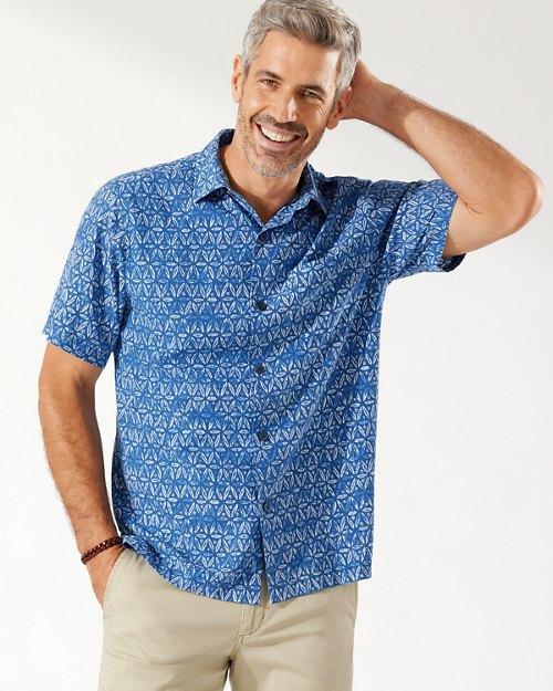 Barrier Batik Camp Shirt