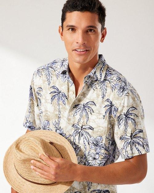 Veracruz Cay Batik Jungle Camp Shirt