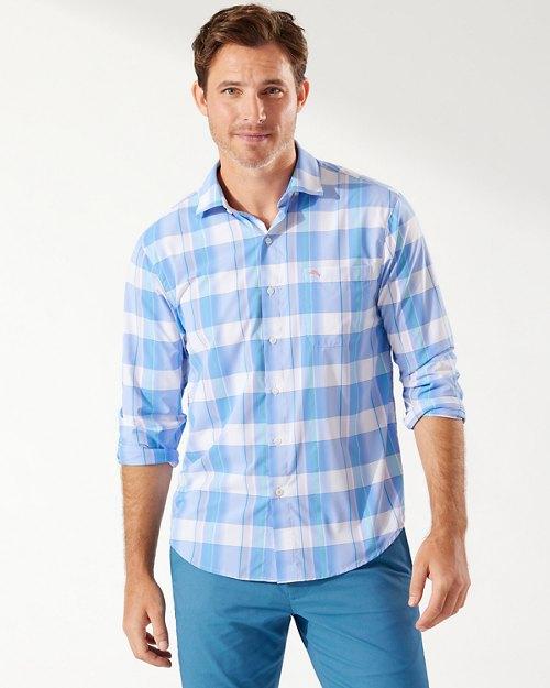 Siesta Key Brisbane Plaid IslandZone®Shirt