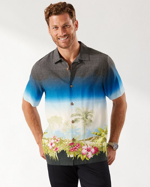 Moonlight Oasis Camp Shirt