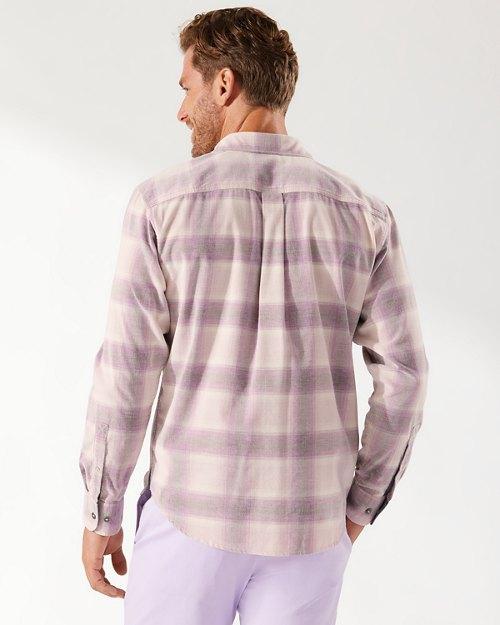Coastline Cord Sunfade Plaid Shirt