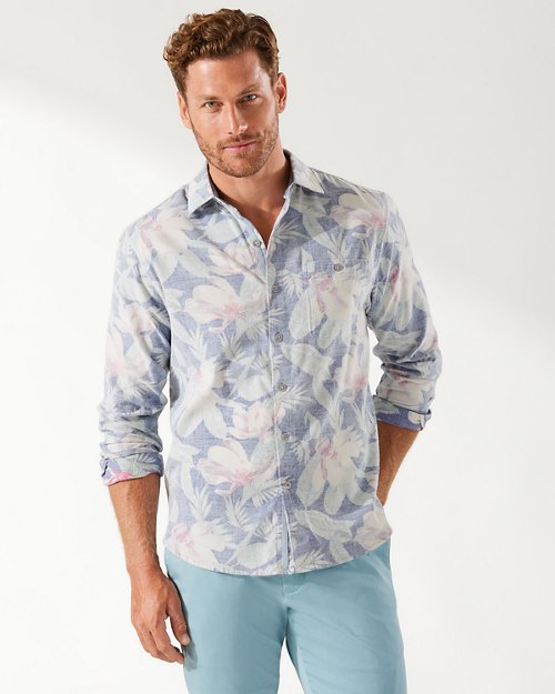 Coastline Cord Flora Fade Shirt