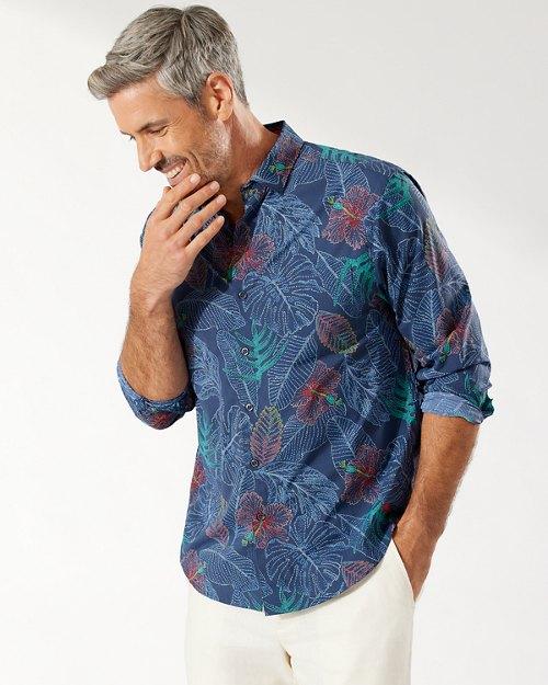 Siesta Key Etched Fronds IslandZone® Shirt