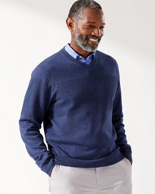 IslandZone® Coolside V-Neck Sweater