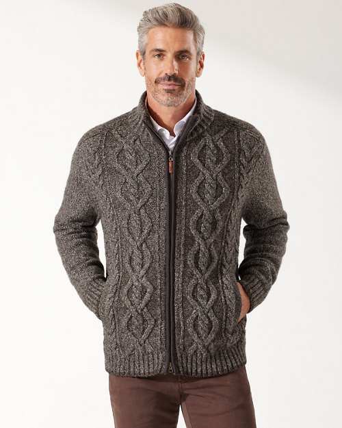 Cable Beach Full-Zip Jacket