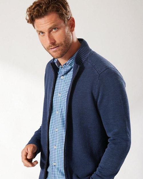 Sandover Full-Zip Sweater