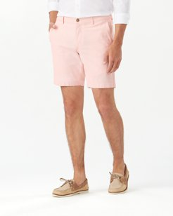 Menorca Stripe 8-Inch Chino Shorts