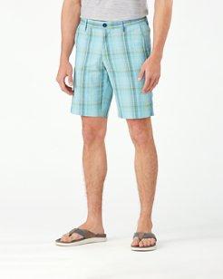 Sea Sport Plaid IslandZone® 10-Inch Shorts