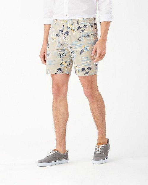 Boracay Sail-A-Way 8-Inch Shorts