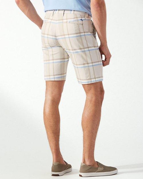 Harbor Point Plaid IslandZone® 10-Inch Shorts