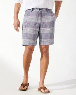 Round Trip Getaway 10-Inch Linen Shorts