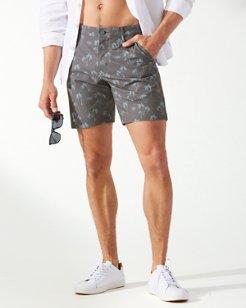 Palm Trio IslandZone® 8-Inch Shorts