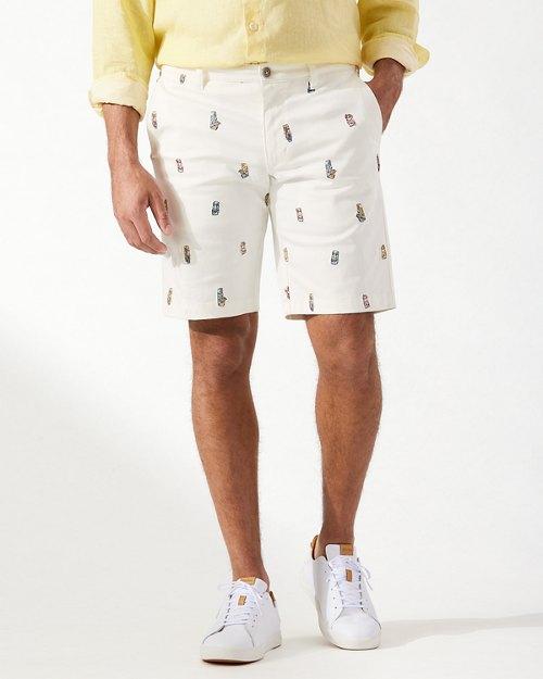 Boracay Tiki Toss 10-Inch Shorts
