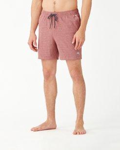 Naples Montagu Beach Stripe IslandZone® 6-Inch Shorts