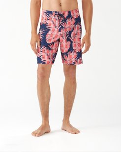 North Shore Palm Del Plaid IslandZone® 9-Inch Board Shorts