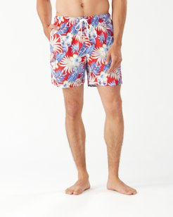 Naples Konkan Jungle 6-Inch Swim Trunks