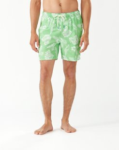 Naples Parrot In Paradise 6-Inch Swim Trunks