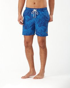 Naples Desert Fronds 6-Inch Swim Trunks