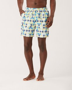 Naples Diamond Beach 6-Inch Swim Trunks