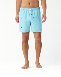 Naples Hu-La-La 6-Inch Swim Trunks