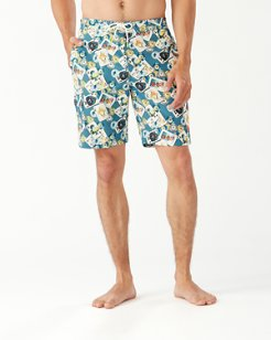 Baja Stack The Deck 9-Inch Board Shorts