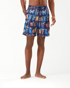 Baja Tiki Bar 9-Inch Board Shorts