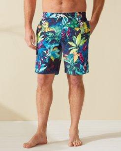 Baja Fuego Palms 9-Inch Board Shorts