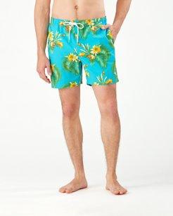 Naples Nassau Blooms 6-Inch Swim Trunks