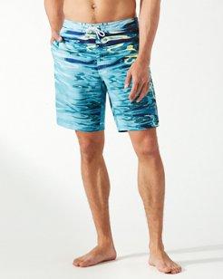 Baja Ripple Effect 9-Inch Board Shorts