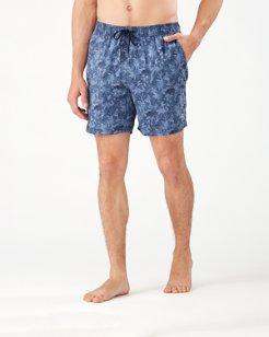 Naples Jungle Shade IslandZone® 6-Inch Swim Trunks