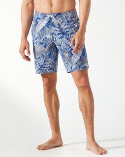 Baja Island Botanical 9-Inch Board Shorts