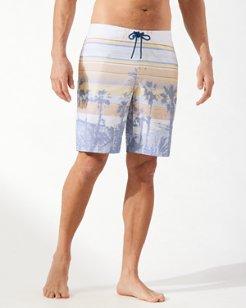Baja Boardwalk Beach 9-Inch Board Shorts