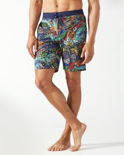 Baja Cali Coast 9-Inch Board Shorts