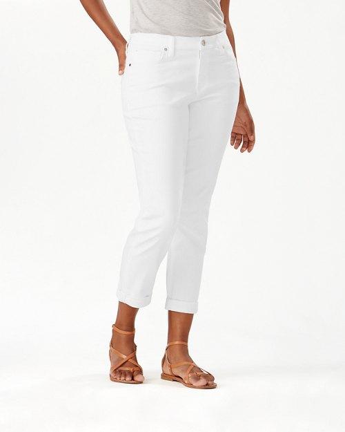 Ella Twill Slim Boyfriend Jeans