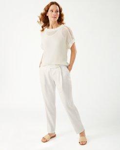 Willa Stretch-Linen Pants