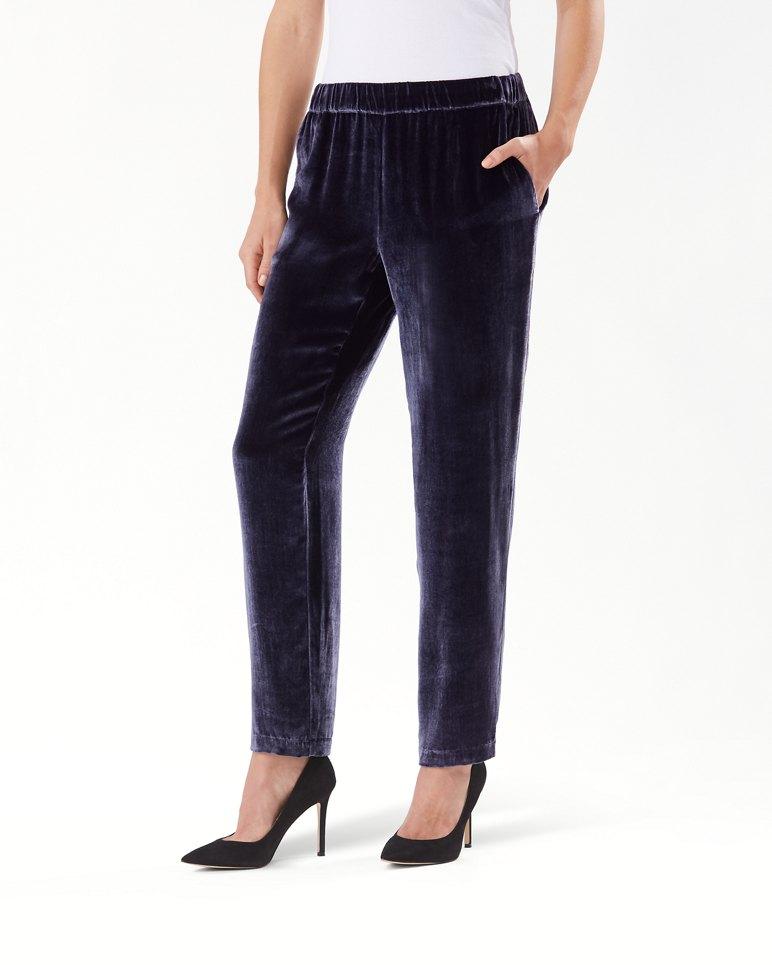 Main Image for Velvet Sands Silk-Blend Pants