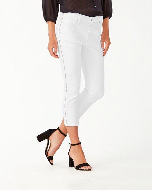 Ella Twill Sparkle Cropped Jeans