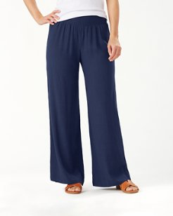 Caicos Crinkle Smocking Pants