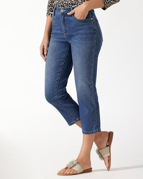 Boracay Indigo High-Rise Crop Jeans