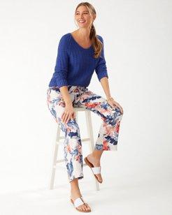Tropulence Wide-Leg Linen Pants