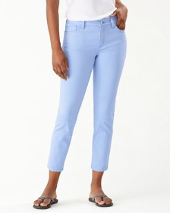 Boracay Beach High-Rise Ankle Jeans