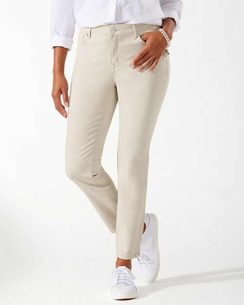 Boracay Beach High-Rise Ankle Jeans