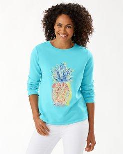 Pop Art Pineapple Crew Sweatshirt