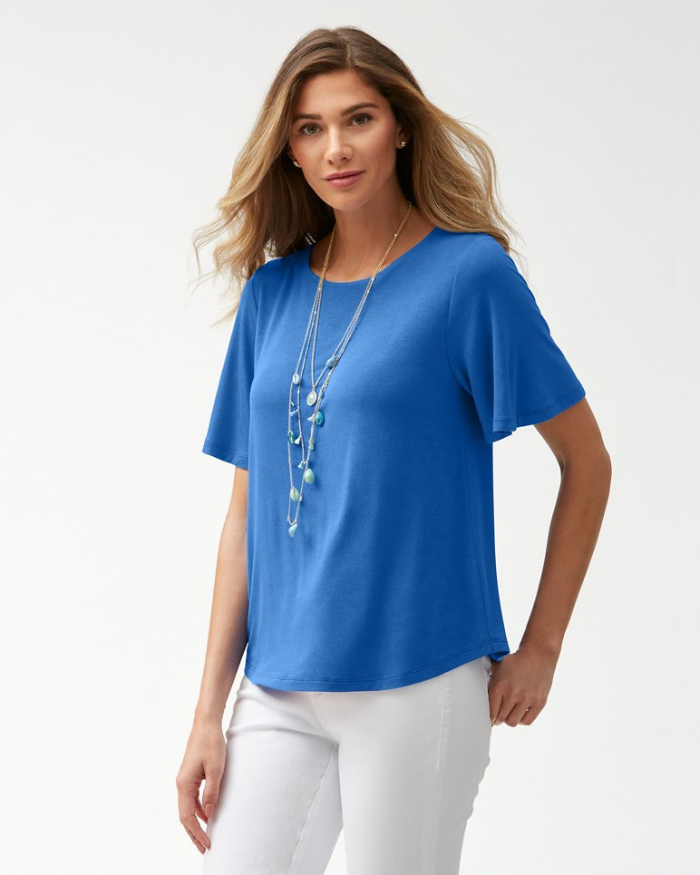 Main Image for Sealight Flutter Sleeve Top