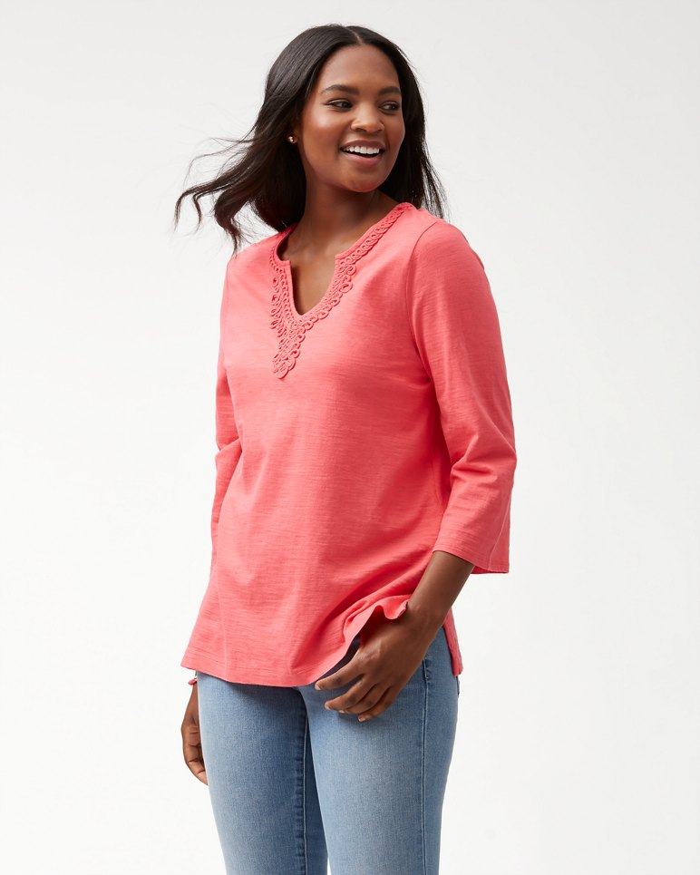 Main Image for Bell Sleeve Jersey Tunic